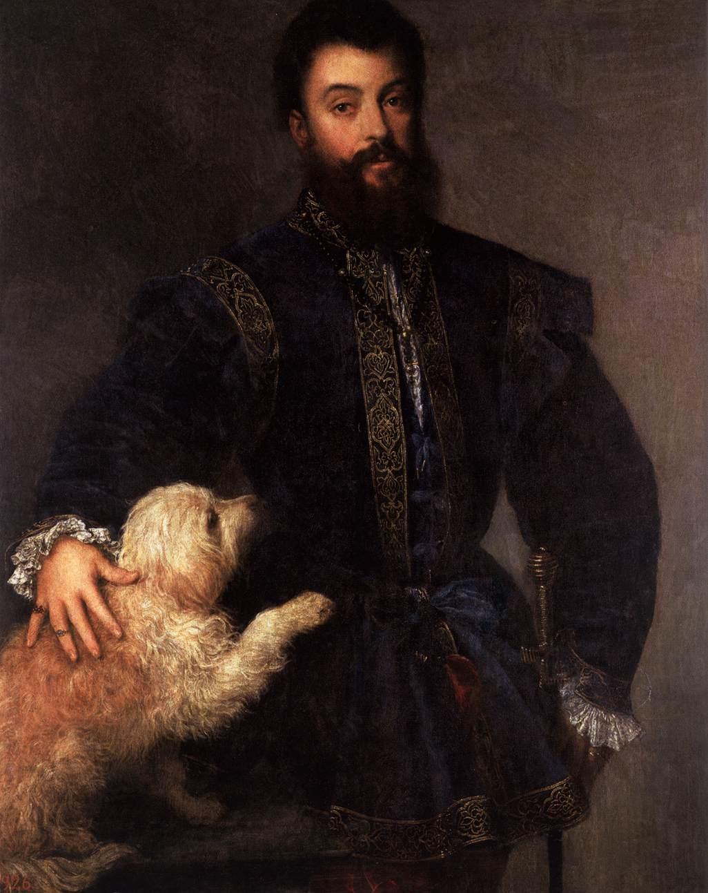 Тициан. Портрет Федерико II Гонзага, герцога мантуанского. 1529