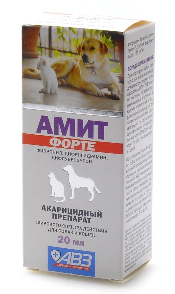 Аскарицидный препарат Амит форте