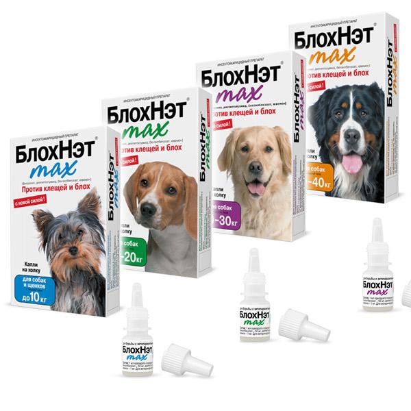 Блохнэт - капли для собак