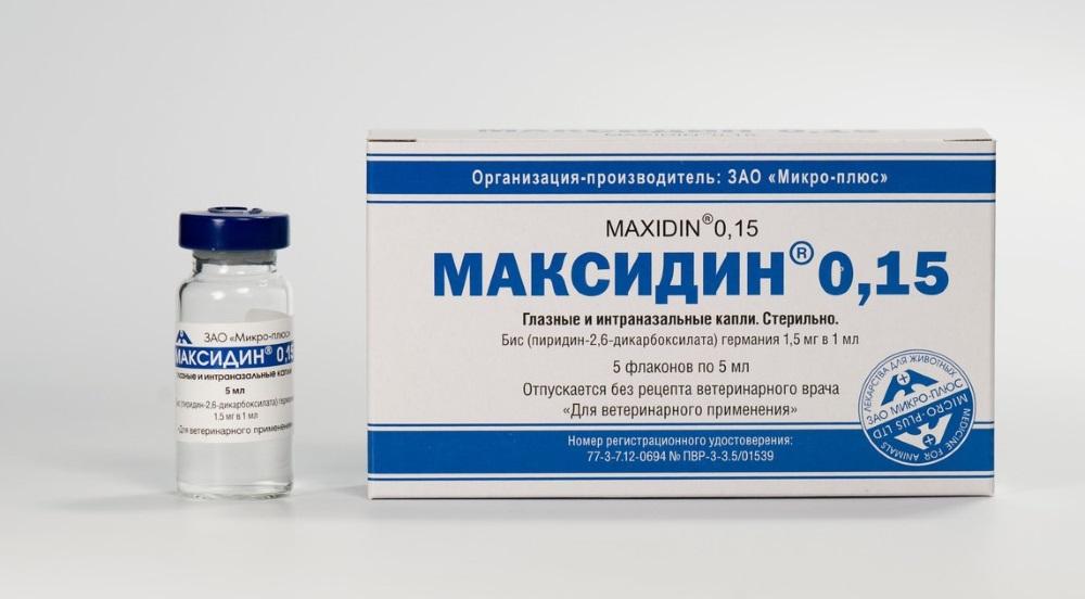 Главная роль максидина - усиление действия прочих средств от паразитов