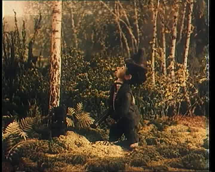 Кадр из мультфильма «Веселые охотники»