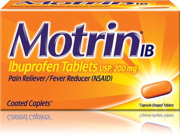 Обезболивающий препарат Мотрин