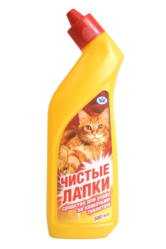 Средство для мытья кошачьего туалета