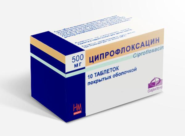 Таблетки Ципрофлоксацин 500