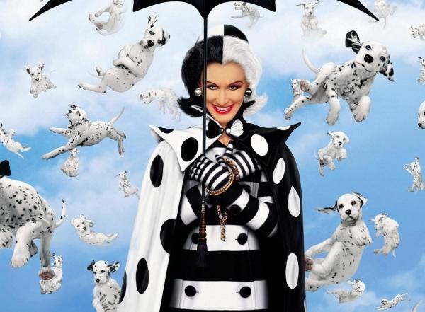 """Круэлла Де Виль (""""101 далматинец"""") - пример не самой подходящей зооняни"""