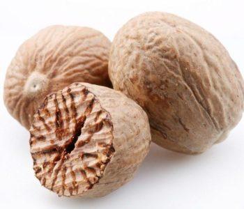 Мускатный орех и макадамия