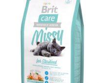 «Brit care cat missy for sterilised» для кастрированных и стерилизованных кошек
