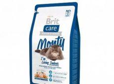 «Brit care cat monty indoor» для малоподвижных кошек