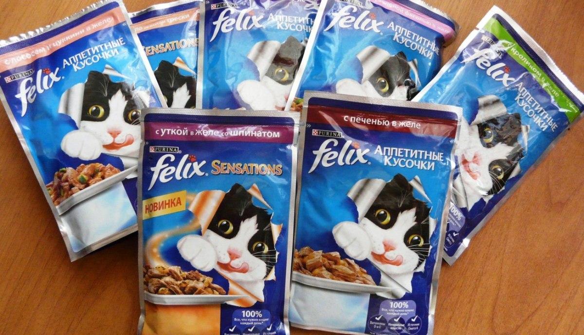 Феликс -корм для кошек