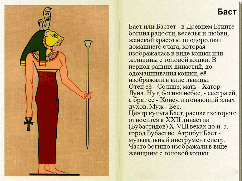 Бастет в Древнем Египте