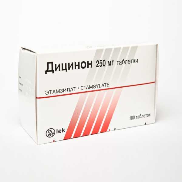 Дицинон в таблетках