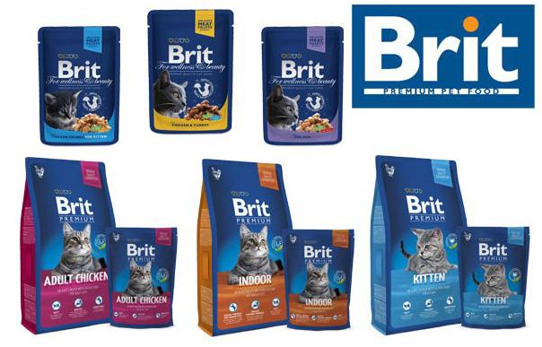 Линия кормов «Brit premium»