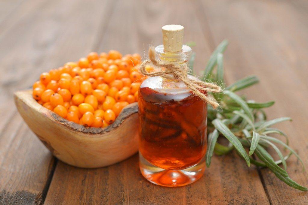 Облепиховое масло мягкое воздействует на раздраженные участки кожи носа