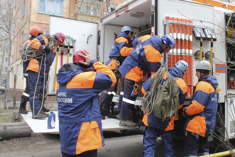 Спасатели МЧС готовы ко всему
