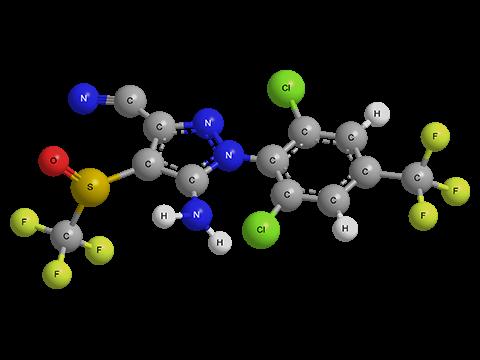 Химическая формула финпронила