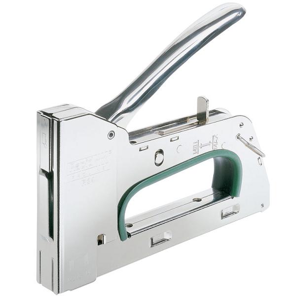 Строительный степлер пригодится вам для скрепления тканей и материала домика