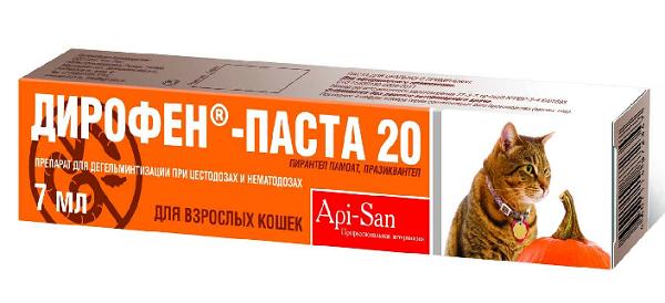 Паста Дирофен