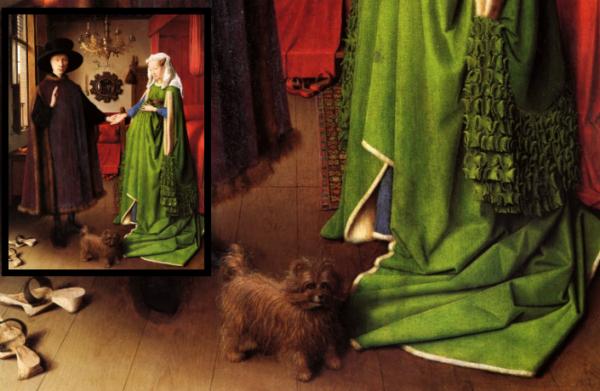 Предки гриффона в живописи