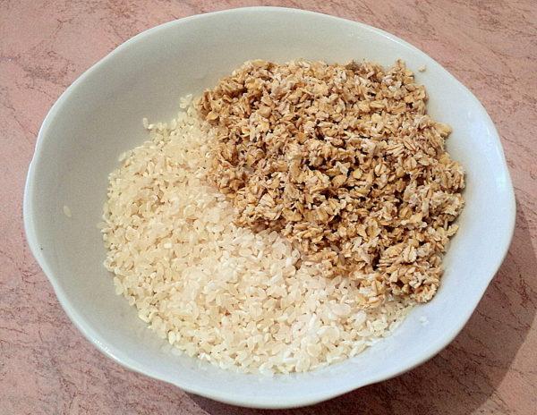 Рис и овсянка - подходящие крупы для гриффонов