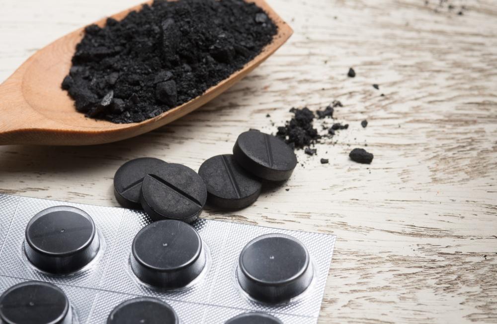 Активированный уголь мощнейшим адсорбирующим эффектом