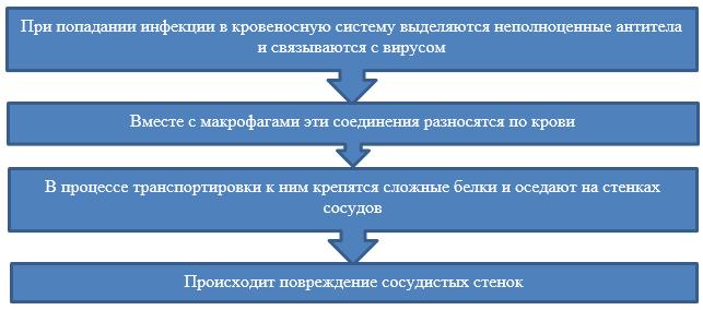 Процесс заражения