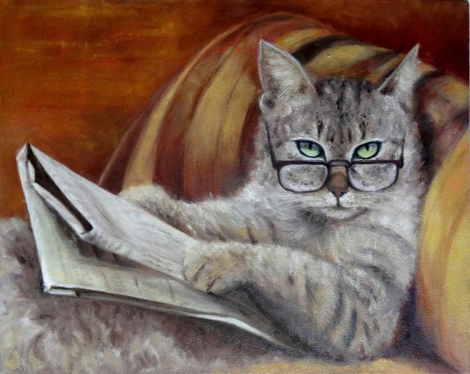 Взрослые кошки часто «удобнее» котят