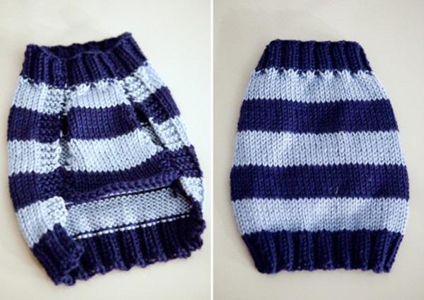 Готовый вязаный свитер
