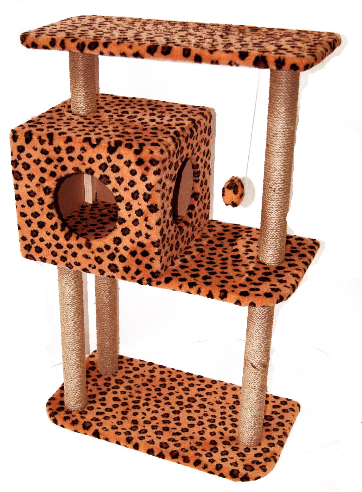 Домик для кошки с двумя выходами