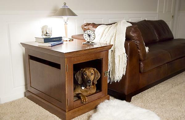 Домик для собаки станет прибежищем на время отсутствия хозяина