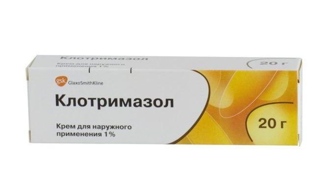 Крем для наружного применения Клотримазол