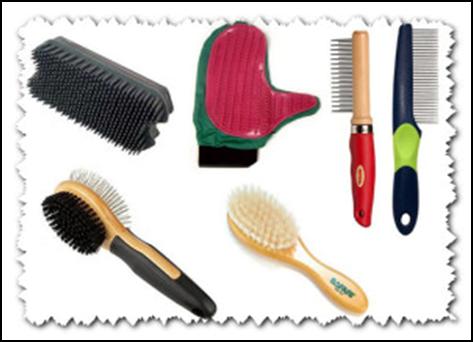 Предметы для вычесывания шерсти