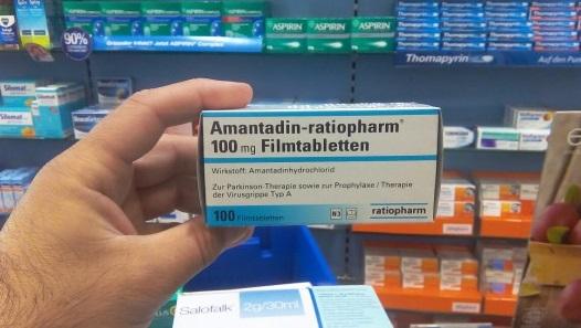 Препарат Амантадин в таблетках