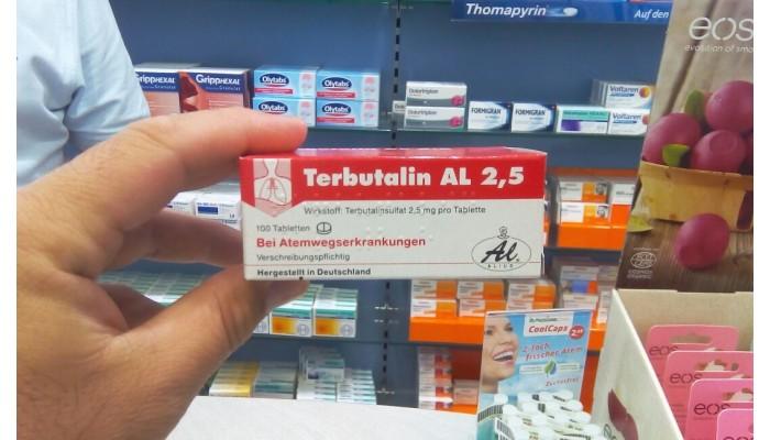 Препарат Тербуталин