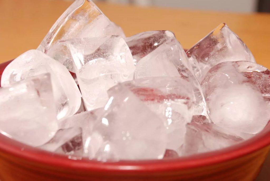Прикладывание льда — действенный метод