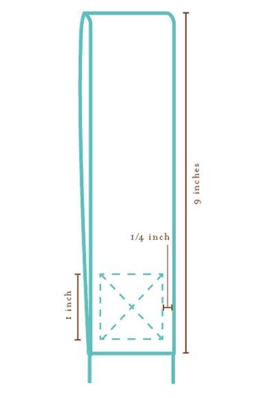 Схема изготовления ручки