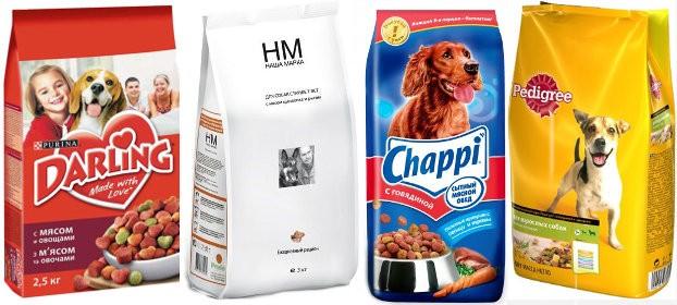 Эконом корма для собак