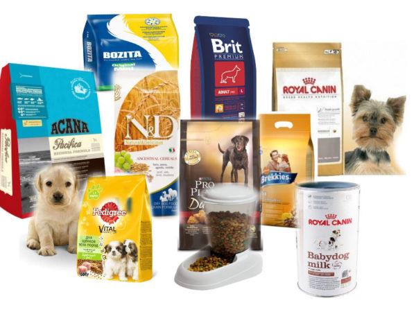 Производители предлагают большой ассортимент сухих кормов