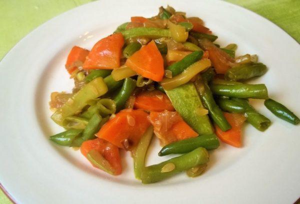 Тушеные овощи лучше усваиваются