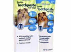 «Excel Canine Toothpaste», произведено в США