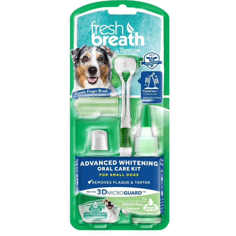 Набор для чистки зубов собаке