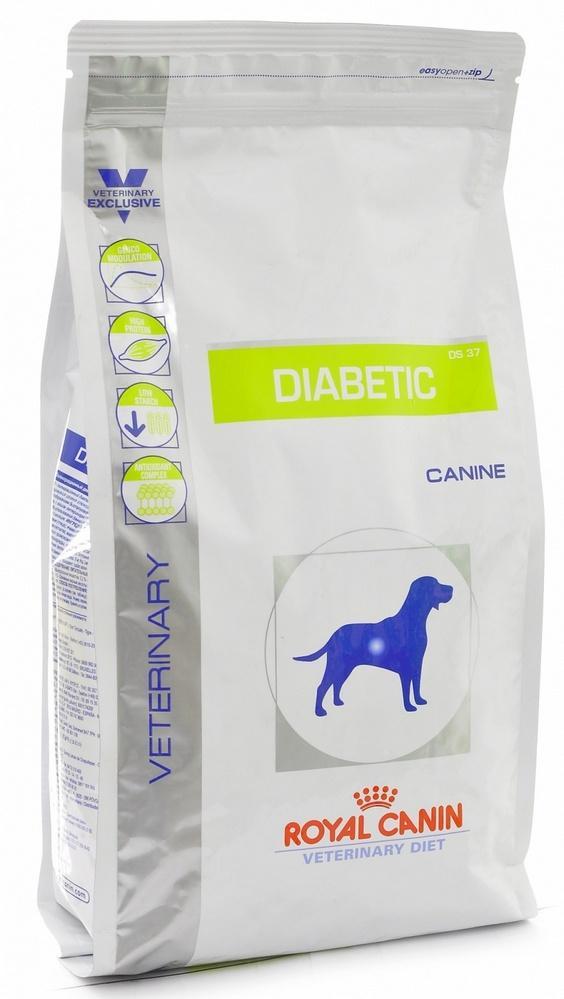 У кормов премиум-сегмента и выше существуют специальные линейки кормов для собак-диабетиков
